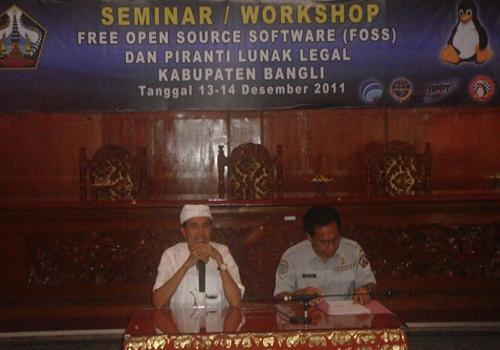 Seminar / Workshop FOSS dan Piranti Lunak Legal