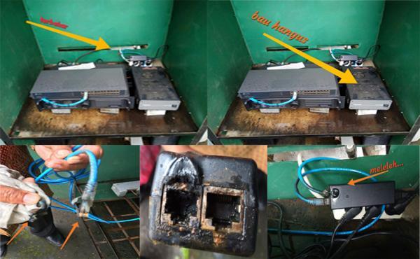 Kerusakan Refieter Hytera RD988 UHF
