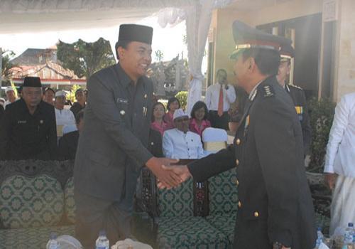 Peringatan Hari Bhayangkara Ke-65 Tahun 2011Di Kabupaten Bangli