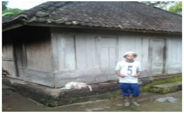 Verifikasi Bedah Rumah   Di Desa Bunutin Kintamani Tahun 2018