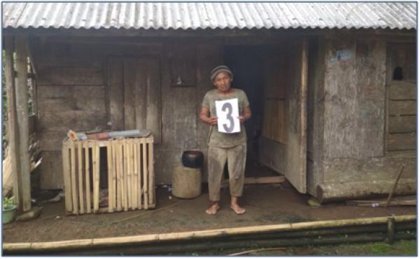 Verifikasi Bedah Rumah   Di Desa Satra Tahun 2018