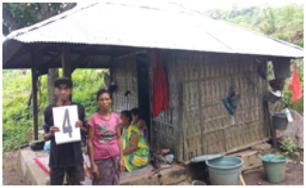 Verifikasi Bedah Rumah Di Desa Songan B, Dsn. Batumeyeh Tahun 2018