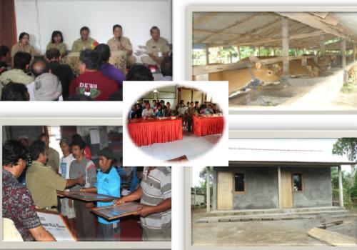 PEMBERDAYAAN DAN BANTUAN SOSIAL  DINAS SOSIAL TENAGA KERJA DAN TRANSMIGRASI KAB. BANGLI TAHUN 2014