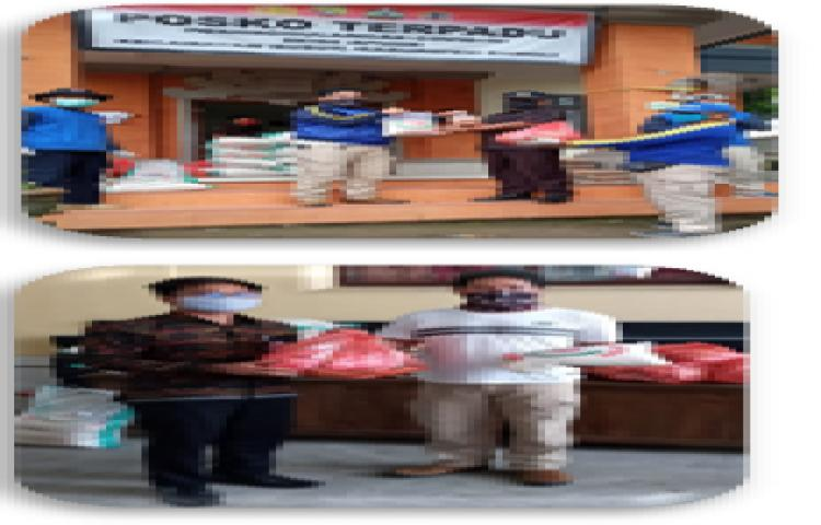 DROPING BANTUAN  KEPADA MASYARAKAT DI DESA APUAN, BR. BANGUN LEMAH