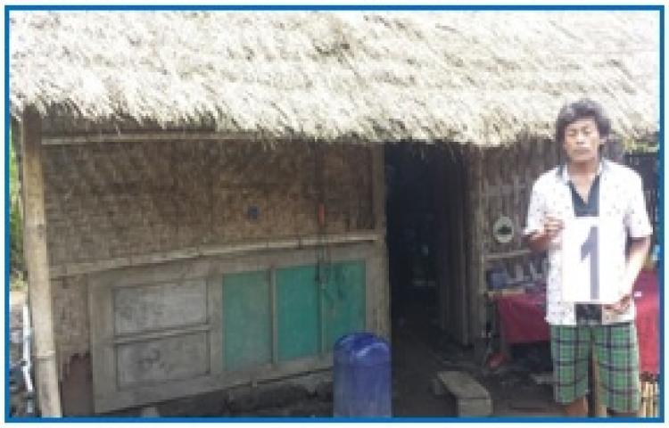 Verifikasi Bedah Rumah   Di Desa Batur Selatan, Br. Budi Karya Kintamani Tahun 2018