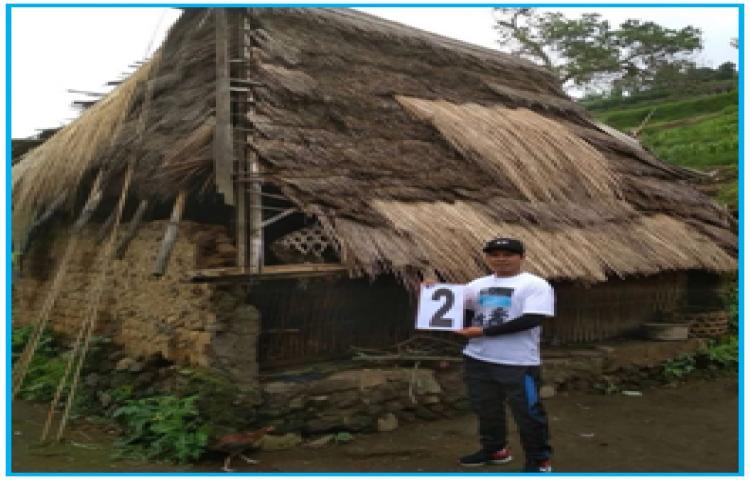 Verifikasi Bedah Rumah   Di Desa Songan B Tahun 2018