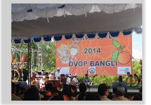 Festival Jeruk di Kecamatan Susut, Bangli