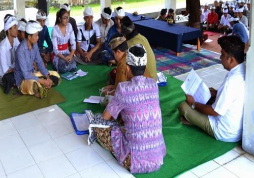 Pembinaan Sekaa Teruna Kabupaten Bangli